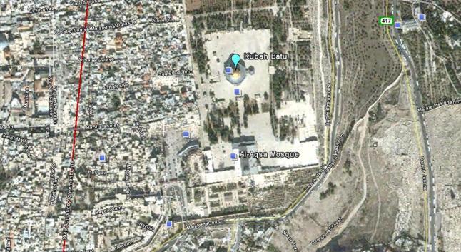 Kedudukan Masjidil Aqsa Dengan Kubah Batu