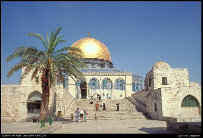 Kubah Batu - Bukan Masjidil Aqsa