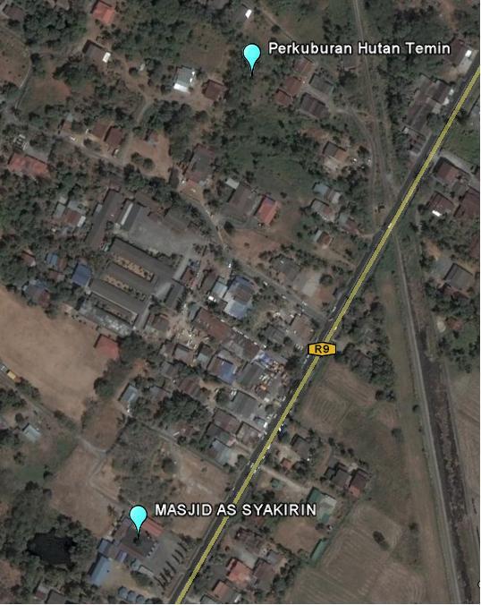 Kedudukan Masjid Dan Tanah Perkuburan