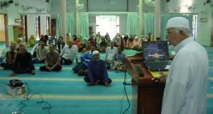 Taklimat Oleh Ustaz Ya Ali Dahaman ,Imam Masjid As Syakirin
